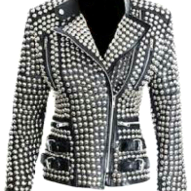 New Womens Item Real Silver Studded..