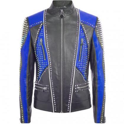 Men Philipp Plein Black Blue Contra..