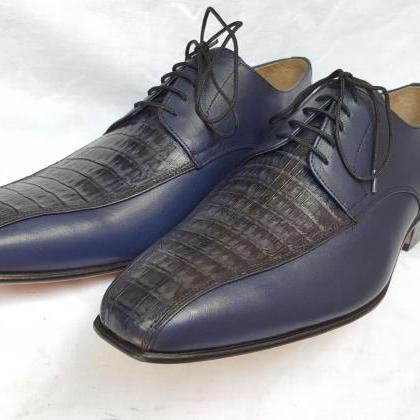 Designer Made Men Oxford Crocodile ..