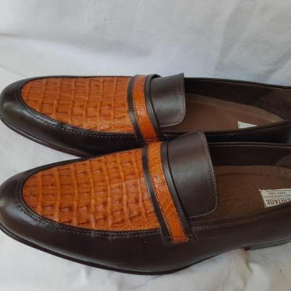 Handmade Men's Crocodile Genuine US..