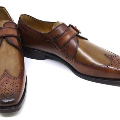 Customized Handcrafted Men's Oxford..