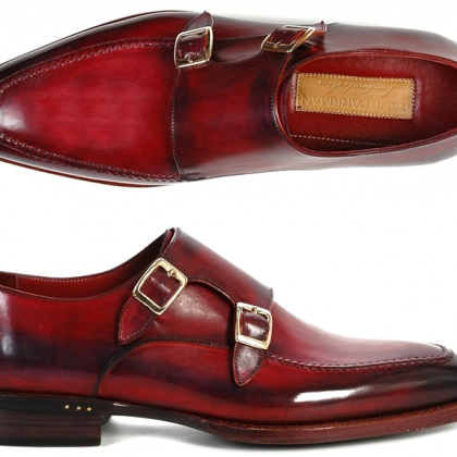 Two Tone Monk Burnished Toe Double..
