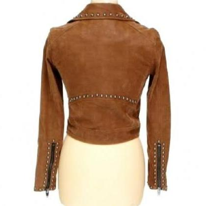Brown Color Stylish Genuine Leather..