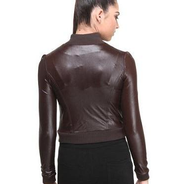Chocolate Brown Vintage Leather Str..