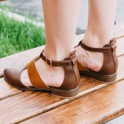 Women's Monk Brown Pulse Orange Poi..