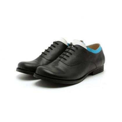Made To Order Three Tone Oxford Bla..