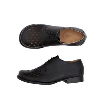 Black Oxford Matching Sole Leather ..