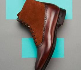Handmade Men's Brown..