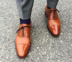 Brown Color Oxford C..