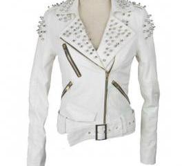 White Color Biker V..