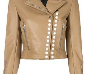 Brown Color Biker G..