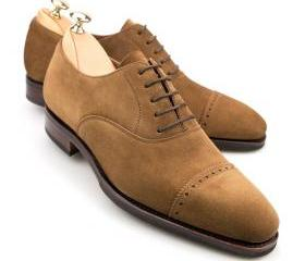 Tan Color Oxford Rou..