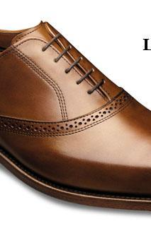 Customized Brown Medallion Lace up Oxford Genuine Classical Leather Shoe For Men